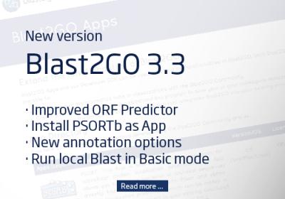 New Blast2GO Version 3.3