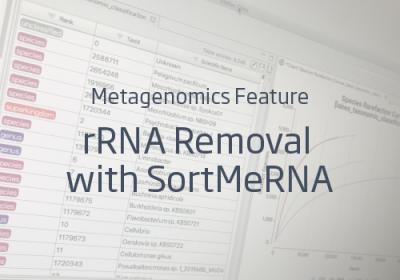 metatranscriptomics SortMeRNA OmicsBox rRNA ribosomal removal filtering
